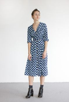 OCTAVE  dress in ikat cotton