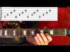 """Knockin' On Heaven's Door""       Solo by GUNS N' ROSES - Guitar Lesson - Slash - YouTube"