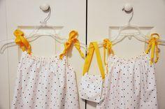 little girls' pillowcase dresses #sewing #easy #pillowcase #dress