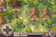 Guardian Soul Pixel Rpg Games, Rpg Map, 8 Bit Art, Pixel Design, Game Concept Art, Game Ui, Sprites, Video Game Art, Tile Art