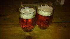 Beer in medioeval pub in Prague
