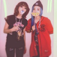 Minzy and Dara show off their lovely new smiles | http://www.allkpop.com/article/2014/02/minzy-and-dara-show-off-their-lovely-new-smiles