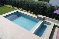 clean lines - Seemless coping and deck Minimalist Swimming Pool Modern Pool Z Freedman Landscape Design Venice, CA