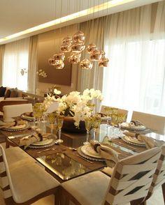 lustre e cores mesa