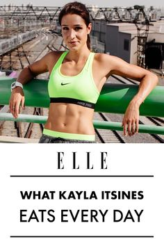 What Kayla Itsines Actually Eats Every Day
