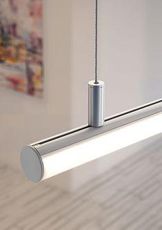 Led Recessed Lighting, Recessed Ceiling Lights, Linear Lighting, Modern Lighting, Lighting Design, Laundry Rack, Modern Lamps, Modelos 3d, Office Lighting