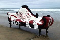 Octopus fainting couch by TwoDaysWork