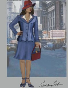 Hayley Atwell on the 1940's Style of Agent Carter...