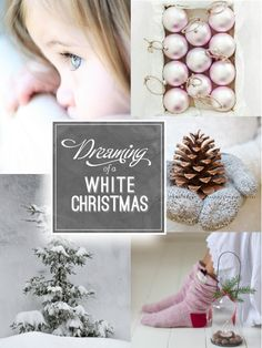 Just dreaming of a white christmas