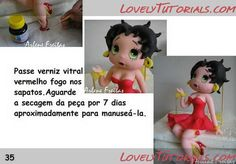 The best Betty Boop tutorial I could find    Размер: 70.3 Кб