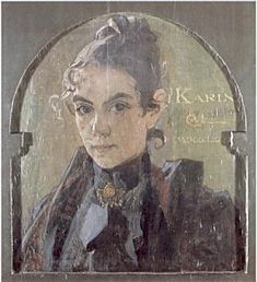 Karin, 1890 ~ Carl Larsson (actually this is my favorite artist)