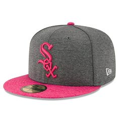 new concept a9ec4 bbc5b Men s Chicago White Sox New Era Graphite Mother s Day 59FIFTY Fitted Hat