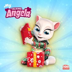 To celebrate the holidays, I've got a super special present for all you Little Kitties out there. But it's only available for 24 hours so don't miss out! Click on the link in my bio. xo, Talking Angela #TalkingAngela #MyTalkingAngela #LittleKitties #festive #presents #holidays #Christmas #love #gifts #cute #cozy