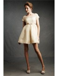 Silk Knee-Length Special Occasions Dress