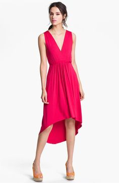 FELICITY & COCO Pleated High/Low Dress available at Nordstrom