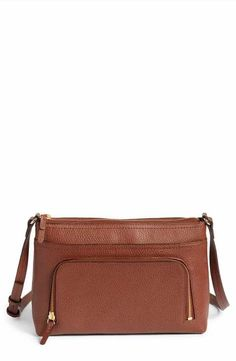 860a789e6c Nordstrom Pebbled Leather Crossbody Bag