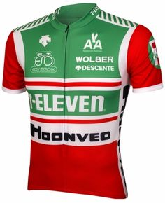 7-Eleven Cycling Jersey.  The one item I wanted more than any other in my first years of cycling.  But never got.