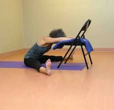 1000 images about yoga en silla on pinterest  chair yoga