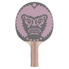 Ping Pong Paddle STONE-EYED GOD rose black Ping Pong Paddles, Scary Faces, God, Future, Stone, Games, Black, Dios, Future Tense