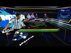 BBC Sport's FIFA World cup 2014 virtual graphics with Stype kit&Vizrt - YouTube