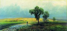 Fyodor Vasilyev - After a Heavy Rain, 1870