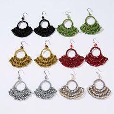 abanicos tejidos a crochet accesorios