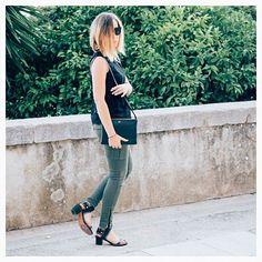 Jessaboutagirl new #outfit post on About a Girl // Nouvelle tenue sur le blog les filles ! Cargo slim HARPER kaki Cimarron jeans #jessaboutagirl #fashionblogger #outfitshare #blogger #denim #jeans #fashion #look #cimarronjeans #cimarronparis