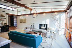The Mid-Century Modern Home | Season 2 | Fixer Upper | Magnolia Market | Living Room | Chip & Joanna Gaines | Waco, TX