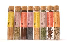 most beautiful spice packaging ever...