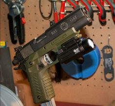 ReCover Tactical CC3 1911 Grip on a Rock Island Armory