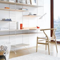 Via Nordic Think   String System Desk   Wegner Y Chair