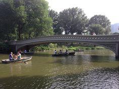 Central Park - Bow Bridge in New York, NY