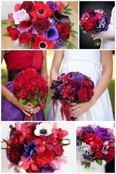 red and purple---i think i love these colors!