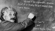 Get away from Chuck Norris