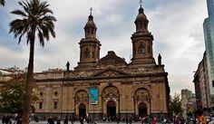 Metropolitan Cathedral of Santiago The Metropolitan Cathedral of Santiago (Spanish: Catedral Metropolitana de Santiago) is the seat of the Archbishop of Santiago de Chile, currently Ricardo Ezzati... #Attraction #Landmark  #Backpackers #Hostelman #Travel #Landmark