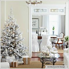 Christmas Tree Ideas - Great ideas on how to decorate your Christmas tree!