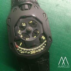 Urwerk UR-105 TA 'Turbine Automatic' is one of my favourite Urwerk watches. | juwelier-haeger.de