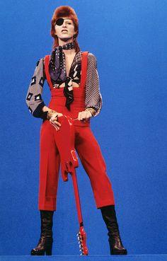 1974 David the Bucaneer for Rebel, Rebel David Bowie's Fashion Evolution