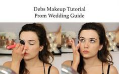 Debs Makeup Tutorial by TheMakeupChair   Prom Wedding
