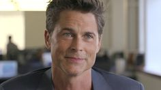 Rob Lowe, professional actor, wants you to succeed in the workplace, so he offered eight invaluable tips for navigating corporate culture. Remember, there's no such thing as a bad job, just bad workers. Go get 'em, tiger!