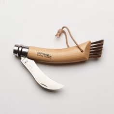 Opinel Mushroom Knife http://www.bestmadeprojects.com/post/11318925376/caring-for-your-boars-bristle-mushroom