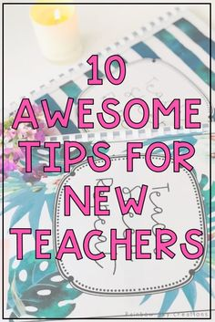 10 Tips for New Teachers Classroom Management Plan, Classroom Organisation, Organization, First Year Teachers, New Teachers, Back To School Pictures, Fun Classroom Activities, School Resources, Teaching Resources