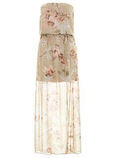 Magnolia Floral Maxi Dress