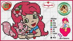Strawberry Shortcake pattern by Carina Cassol
