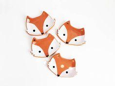 Fox Ring Dish Ring Holder Fox Ceramic Dish Ceramic Ring