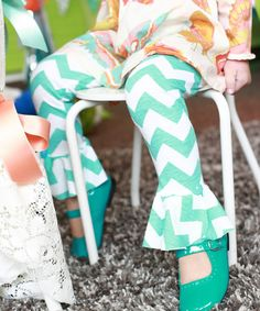 Another great find on #zulily! Teal Petal Leggings - Girls #zulilyfinds