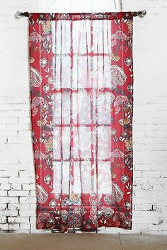 Magical Thinking Ruby Garden Curtain - Urban Outfitters // 39.00 per panel