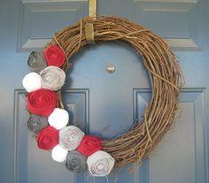 Ohio wreath