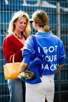 The best street style from Copenhagen fashion week.