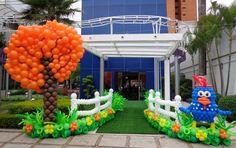 De castelos a safári, confira decorações de festa feitas com balões - Fotos - UOL Economia